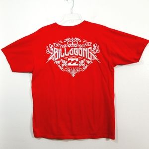 Billabong double sided graphic T-shirt tee L